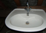 Classifieds Lavabo blanc sur colonne
